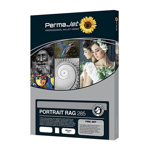 PermaJet Portrait Rag 285 Paper Sheets - 285gsm - A3 x 25 sheets - APJ61323