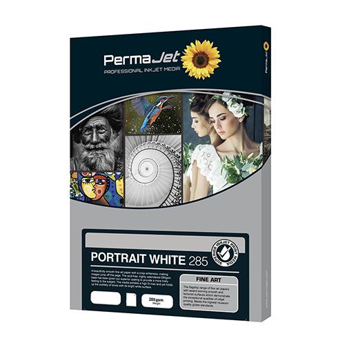 PermaJet Portrait White 285 Paper Sheets - 285gsm - A4 x 25 sheets - APJ22213