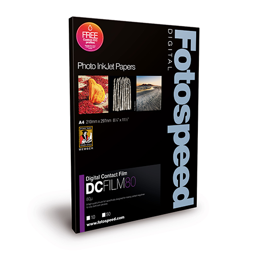 Fotospeed Digital Contact Film 160 Micron Sheets - 160µ - A3 x 50 sheets - 7D055