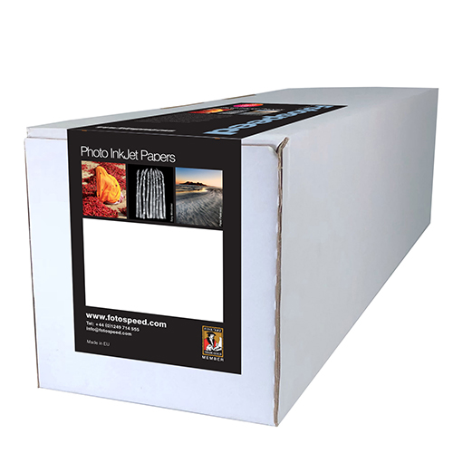 "Fotospeed Metallic Lustre 275 Paper Sheets - 275gsm - 44"" inch - 1118mm x 30mt - 7D662"