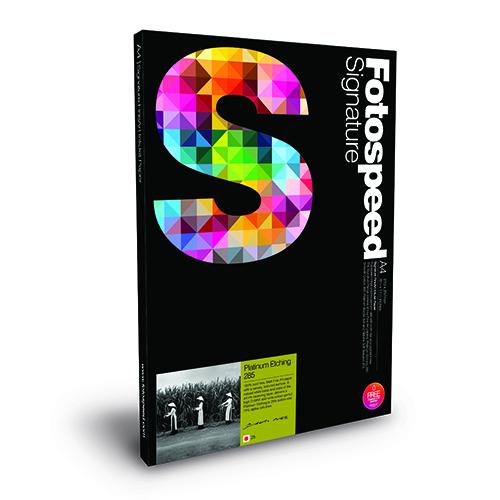 Fotospeed Platinum Etching 285 Fine Art Matt Paper Sheets - 285gsm - A2 x 25 sheets - 7E363