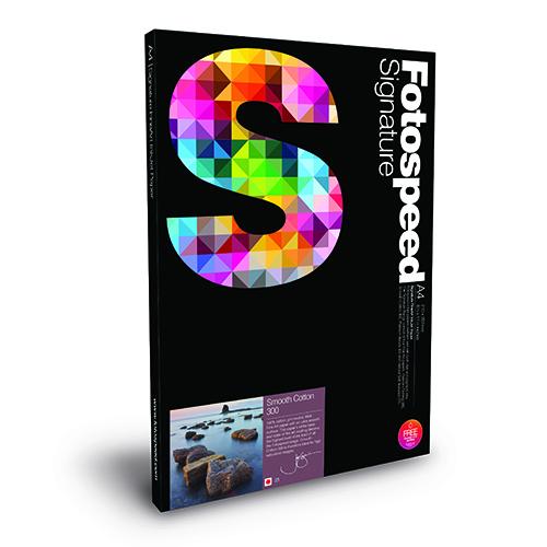 Fotospeed Smooth Cotton 300 Fine Art Matt Paper Sheets - 300gsm - A3 x 25 sheets - 7E351