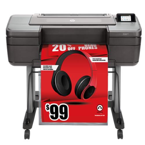 "HP DesignJet Z6 Postscript Printer | 24"" inch | A1 | 6 Colour | Pigment Ink | Poster & Production Graphics Printer | T8W15A"