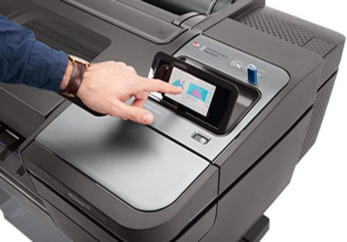 "HP DesignJet Z9+ Postscript Printer | 24"" inch | A1 | 10 Cartridge | Pigment Ink | Photographic Printer | W3Z71A"