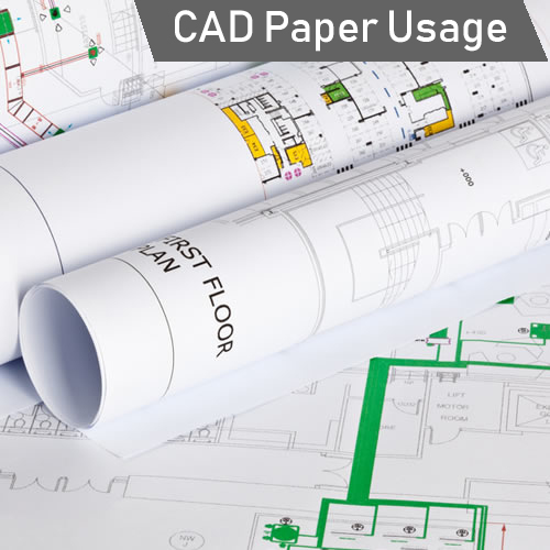 GDS Paper Starter Pack - CAD Plotter Paper Usage Idea
