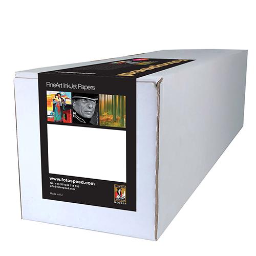 "Fotospeed Natural Textured Bright White 315 Fine Art Matt Paper Roll - 315gsm - 24"" inch - 610mm x 15mt - 7E179"