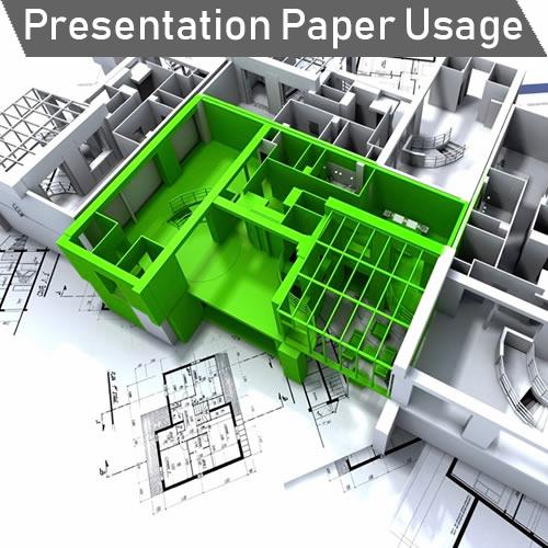 GDS Paper Starter Pack - Presentation Paper Usage Idea