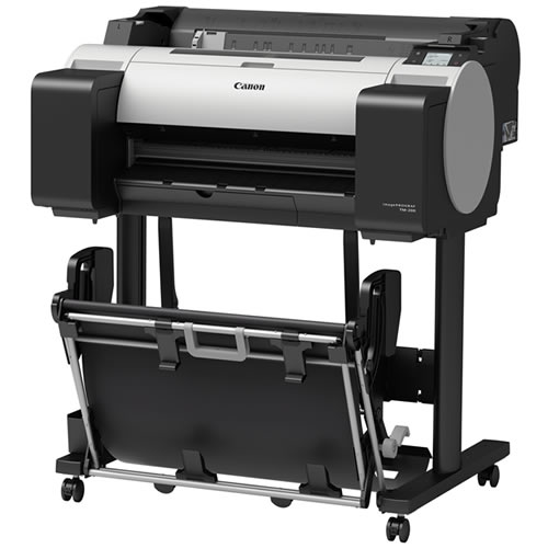 """Canon imagePROGRAF TM-200 Printer - 24"""" inch - A1 - 5 Colour - Pigment Ink - CAD Plotter 