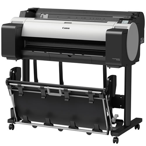 """Canon imagePROGRAF TM-300 Printer - 36"""" inch - A0 - 5 Colour - Pigment Ink - CAD Plotter 