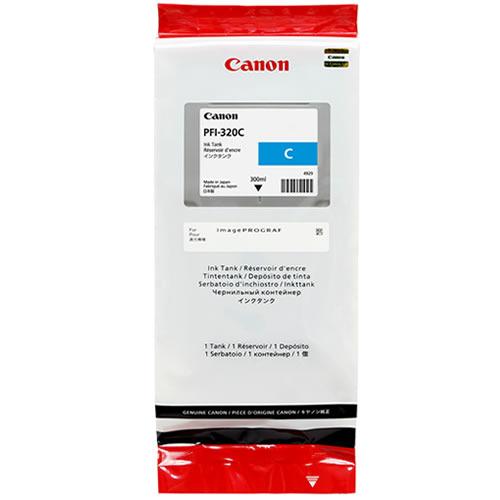Canon PFI-320C Printer Ink Cartridge |  Cyan Ink Tank | 300ml | 2891C001AA