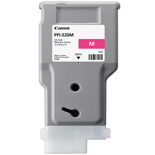 Canon PFI-320M Printer Ink Cartridge |  Magenta Ink Tank | 300ml | 2892C001AA