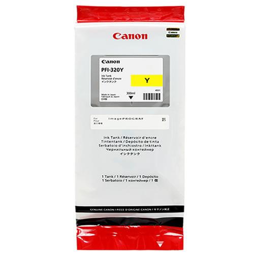 Canon PFI-320Y Printer Ink Cartridge |  Yellow Ink Tank | 300ml | 2893C001AA