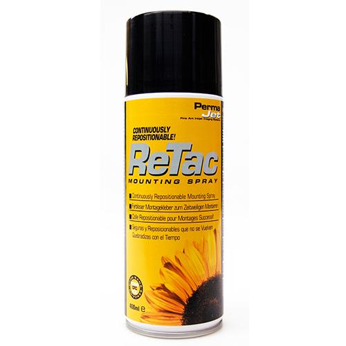 PermaJet ReTAC 400ml - Inkjet Print Adhesive Mounting Spray - APJ59002