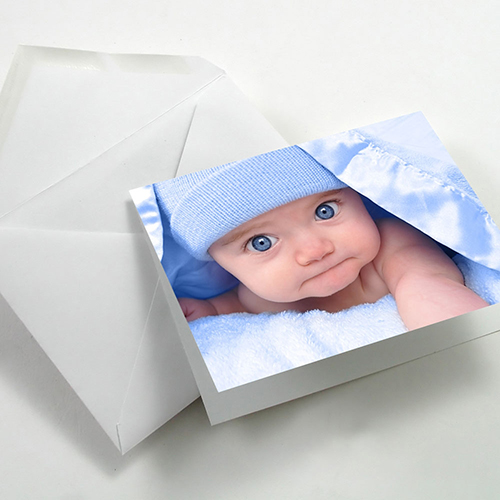 Fotospeed Fotocards - Art Smooth Duo 220 - Greetings Cards - 220gsm - A6 x 25 Cards - 7D189C