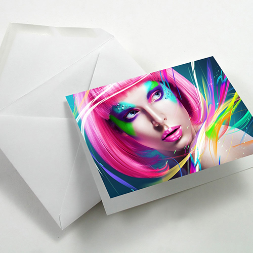 Fotospeed Fotocards - Matt Duo 240 - Greetings Cards - 240gsm - A6 x 25 Cards - 7D187C