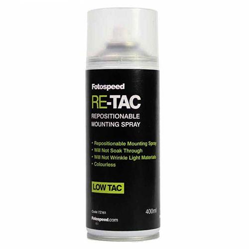 Fotospeed Re-Tac Adhesive Spray - 400ml - 7Z161