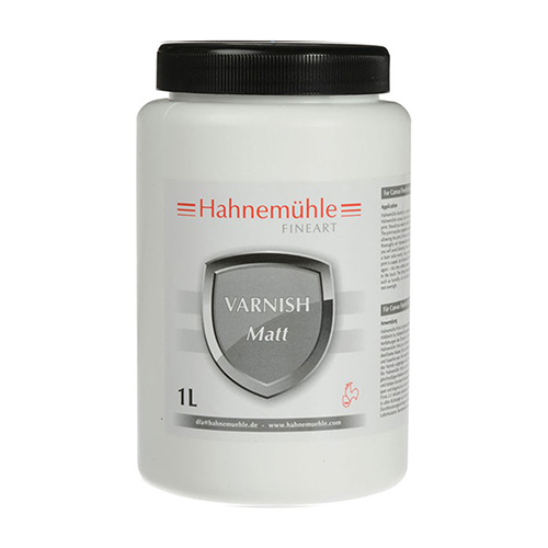 Hahnemühle Matt Varnish - Protective Canvas Varnish - Matt - 1litre - 7H722