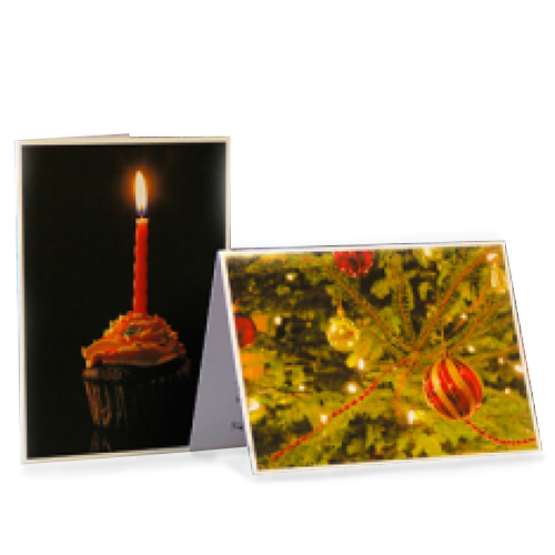 PermaJet Greetings Cards - Silk / Matt - 290gsm - A6 x 50 Cards - APJ24510