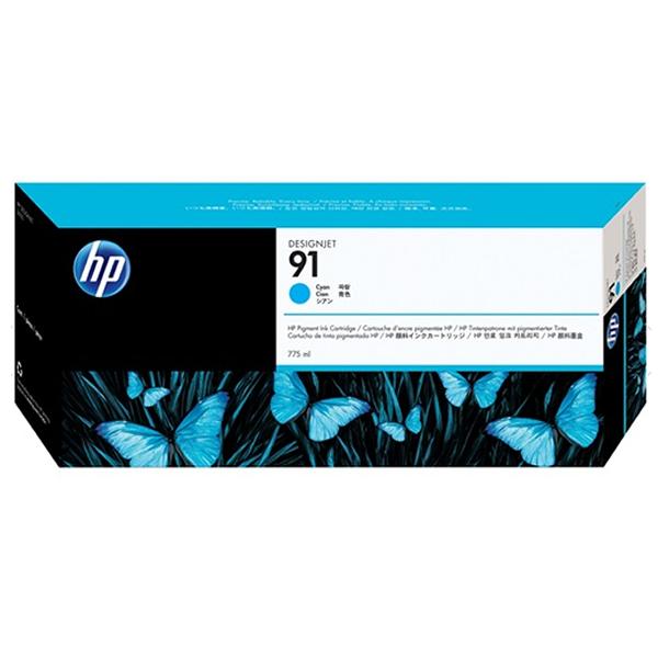 HP 91 Ink Cartridge - 775ml Ink Tank - Cyan - for Z6100 Printers - C9467A