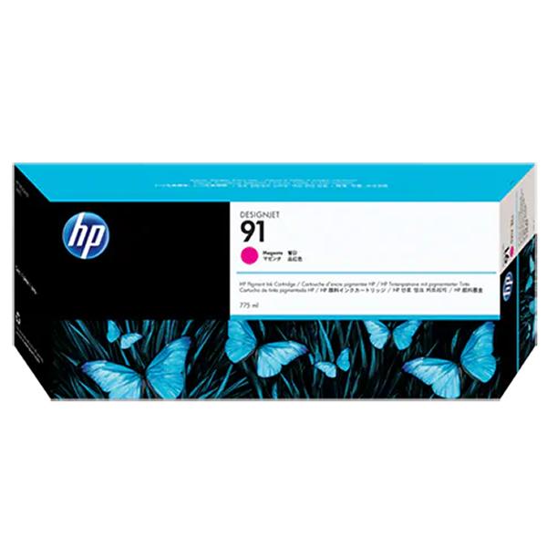 HP 91 Ink Cartridge - 775ml Ink Tank - Magenta - for Z6100 Printers - C9468A
