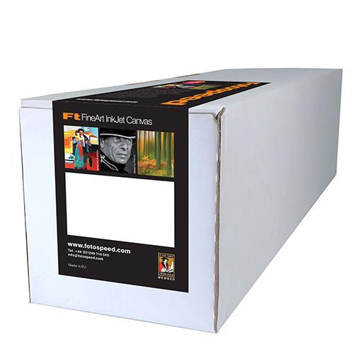 """Fotospeed Polyester 260 Matt Canvas - 260gsm - 44"""" inch - 1118mm x 30mt - 7D636"""