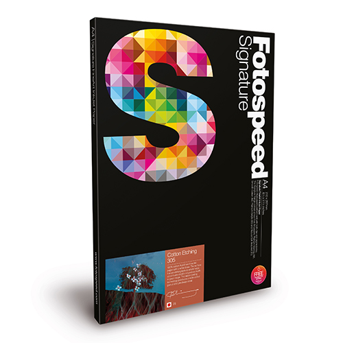 Fotospeed Cotton Etching 305 Fine Art Matt Paper Sheets - 305gsm - A3+ x 25 sheets - 7E512