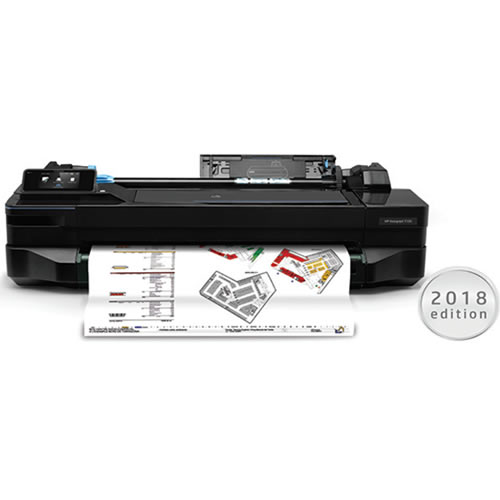 HP DesignJet T120   for illustration purposes   printer not included