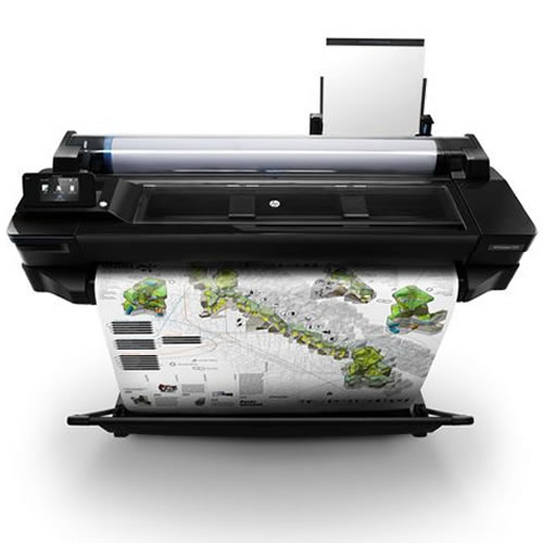 HP T520 A0 Printer - image for illustration purposes - printer not included