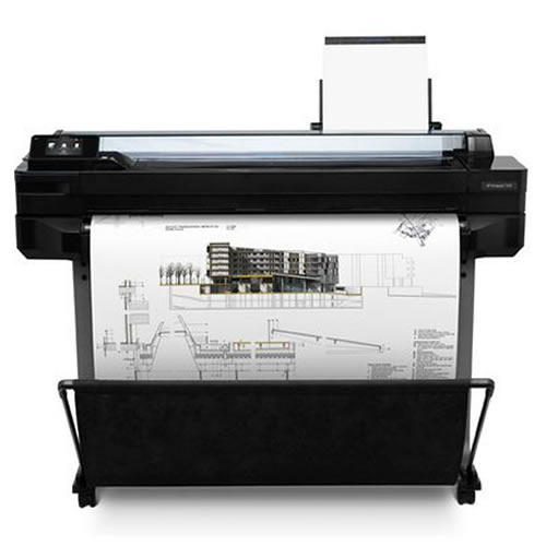 HP DesignJet T520 A0 Printer    for illustration purposes   printer not included