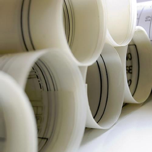 "HP T520 Double Matt Film | Double Matt Translucent Inkjet Drafting Film Roll | 110 micron | 24"" inch | A1+ | 610mm x 38mt | GDS-DMIDF11061038/T120 - suggested usage"
