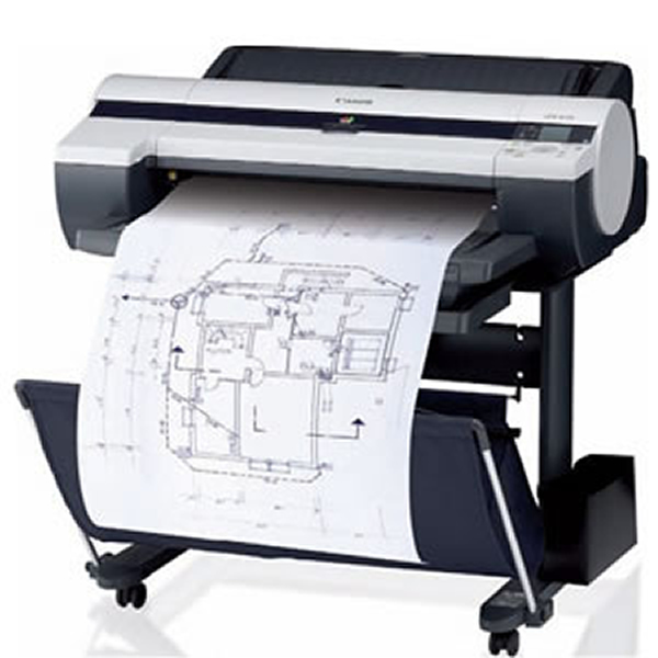 Canon iPF605 Printer - illustration purposes only - printer not included