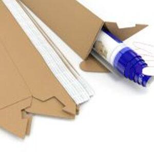 GDS Triangular Postal Tubes   100mm x 60mm   300mm Length   25 Pack   GDS-TPT300