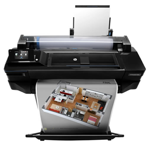 HP DesignJet T520 A1 Printer   for illustration purposes   printer not included