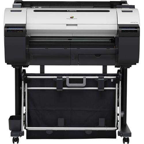 Canon iPF670 Printer - illustration purposes only
