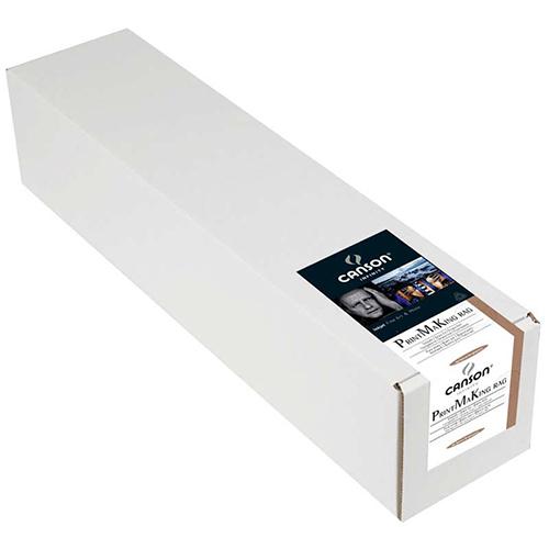 "Canson Infinity PrintMaKing Rag 310 Fine Art Matt Textured Paper Roll - 310gsm - 44"" inch - 1118mm x 15.2mt - C6112004"
