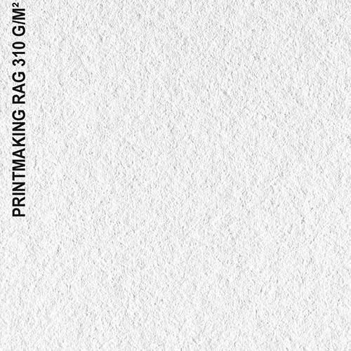 Canson Infinity PrintMaKing Rag 310 Fine Art Matt Textured Paper Sheets - 310gsm - A3 x 25 sheets - C6111007