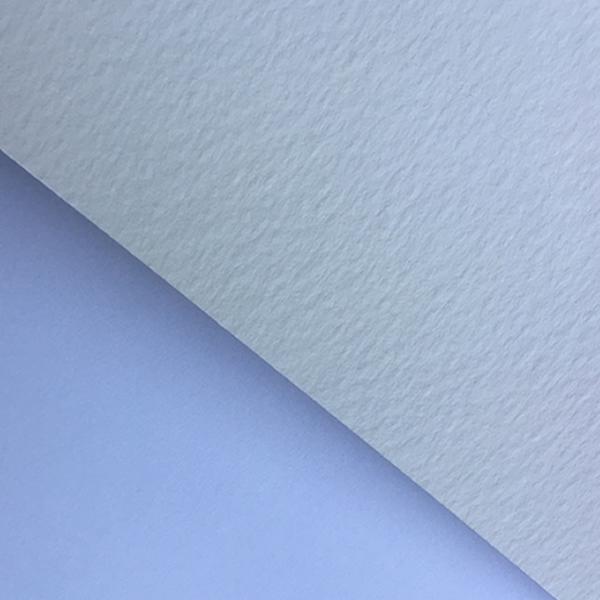 "GDS Matt Textured Fine Art Cotton Paper Roll 300gsm 44"" inch 1118mm 15mt - AGAINST WHITE OFFICE COPIER PAPER"