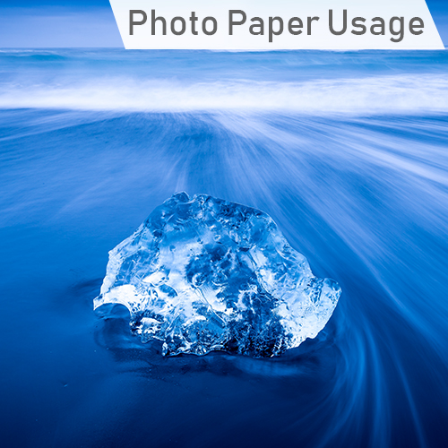 Suggested usage of GDS Microporous Photo Paper