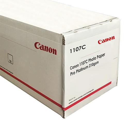 "Canon Group 1107C Photo Paper Pro Platinum | 300gsm | 1067mm x 30.5mt | 42"" inch | 3"" inch core | 1107C001AA"