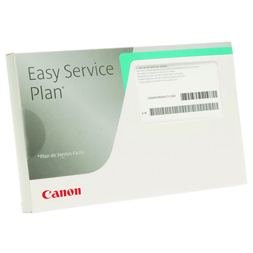 Canon TM-300 Extended Warranty | Canon Easy Service Plan 5 year Onsite Service Plan for Canon TM-300 & TM-305 Printers | 7950A539AA
