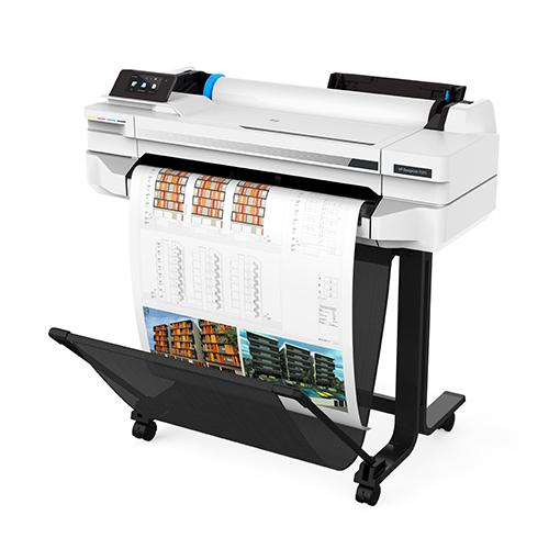 "HP DesignJet T525 Printer | 24"" inch | A1 | 4 Colour | CAD & General Purpose Technical Plotter | 5ZY59A"