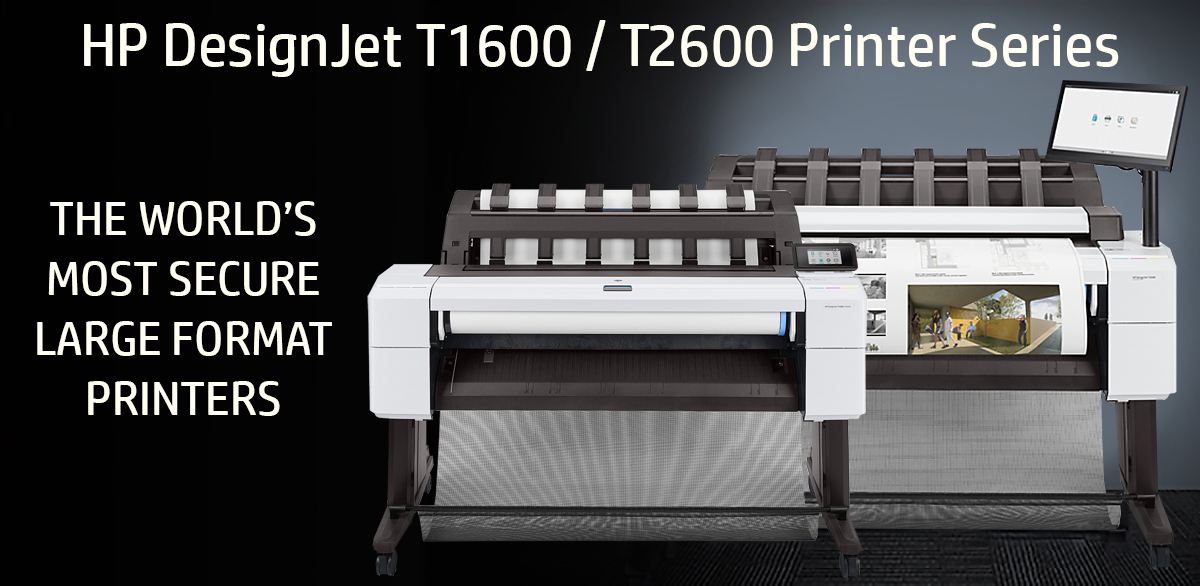 HP DesignJet T1600 and T2600 Printer Series