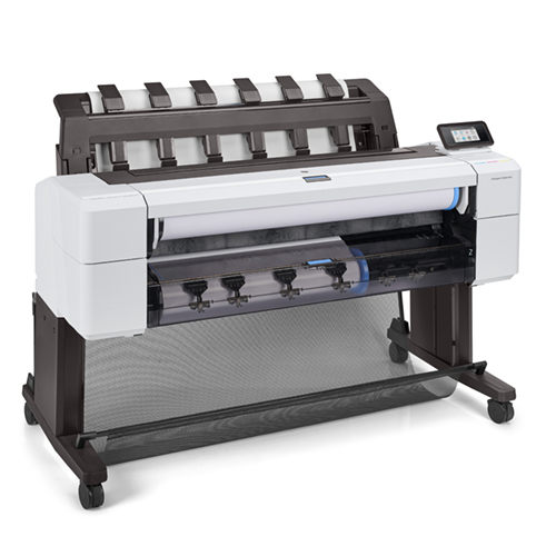 """HP DesignJet T1600dr Printer   36"""" inch   A0   6 Colour   CAD & General Purpose Technical Plotter with Dual Roll   3EK12A"""