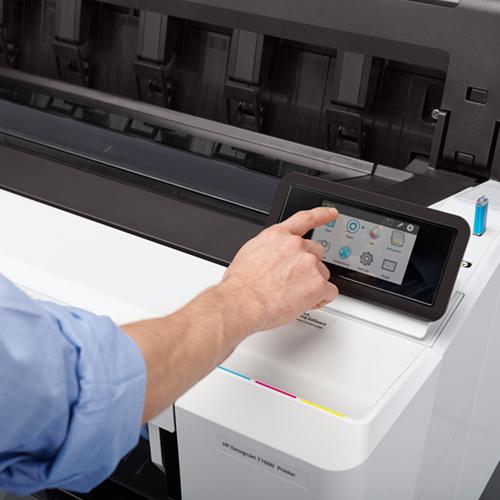 "HP DesignJet T1600PS Printer | 36"" inch | A0 | 6 Colour | CAD & General Purpose Technical PostScript Plotter | 3EK11A"