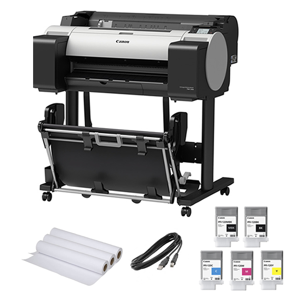 "Canon imagePROGRAF TM-200 Printer Startup Deal | 24"" inch 