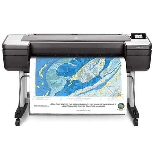 "HP DesignJet T1700dr Dual Roll Printer | 44"" inch 