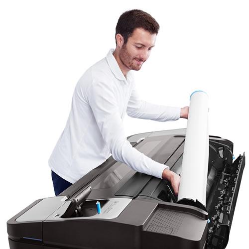 "HP DesignJet T1700dr Dual Roll Printer | 44"" inch | B0 | 6 Colour | Technical CAD Printer | W6B56A"