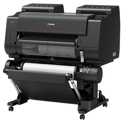 Canon imagePROGRAF PRO-2100 Printer | With Optional Dual Roll Feed Unit Added