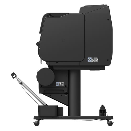 Canon imagePROGRAF PRO-2100 Printer | Side View | With Optional Dual Roll Feed Unit Added