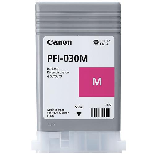 Canon PFI-030Y Yellow Ink Tank | 55ml Cartridge | for Canon TA-20 & TA-30 Printers | 3492C001AA